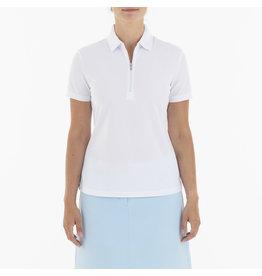 Nivo Sport Nila Short Sleeve Polo White