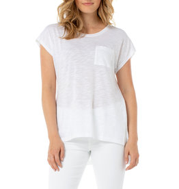 Liverpool Jeans Liverpool Jeans Scoop Neck Dolman White