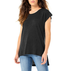 Liverpool Jeans Scoop Neck SS Dolman Black