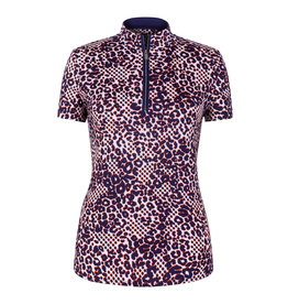 Tail Tail Gwen SS Mock Top Cheetah Dot