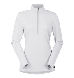 Kerrits Kerrits Ice-Fil Life LS Mock Neck Top White