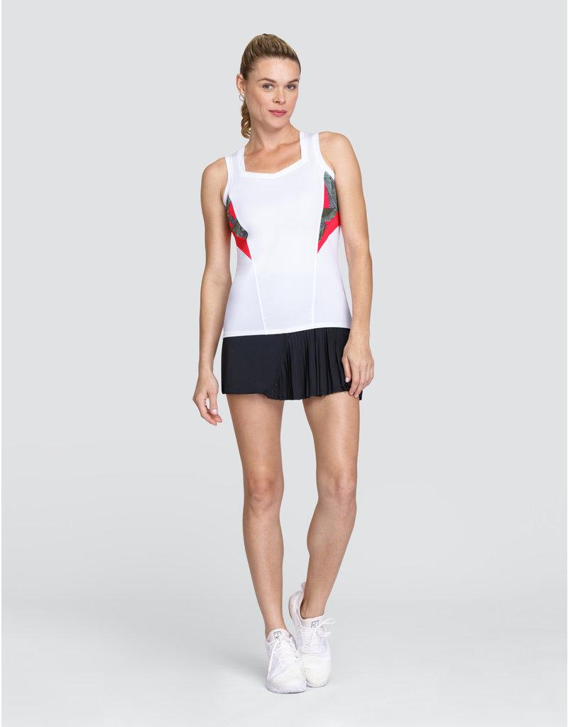 Tail Tennis Jessica Tank V-Neck Chalk