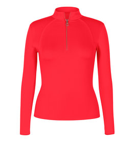 Tail Tennis Amelia LS 1/4 Zip Teaberry