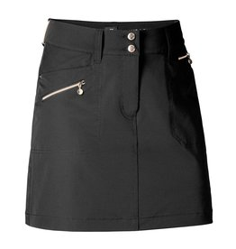 Daily Sports Miracle Skort Black w/Gold Zippers