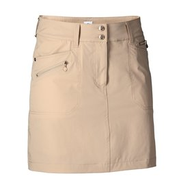 Daily Sports Miracle Skort w/Gold Zippers Long Straw