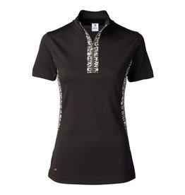 Daily Sports Leonie SS Polo Black