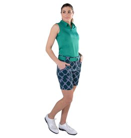 Jofit Belted Golf Short Appletini Diamond
