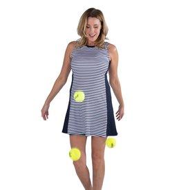 Jofit SL Swing Dress Appletini Stripe