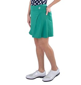 Jofit Paneled Swing Skort Emerald