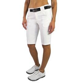 Jofit Belted Bermuda Short White
