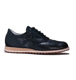 Walter Genuin Brogue Golf Shoe Black