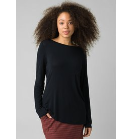 prAna prAna Foundation Long Sleeve Crew Black