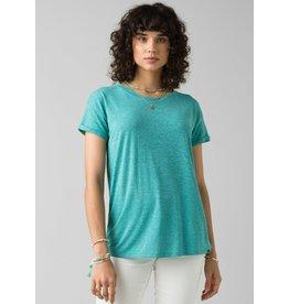 prAna Cozy Up T-Shirt Azurite Heather