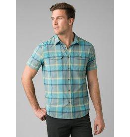 prAna Cayman Plaid Shirt Smoky Blue