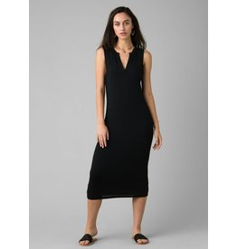prAna Foundation Midi Dress Black