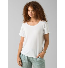 prAna Foundation Slouch Top White