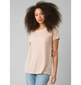 prAna Cozy Up T-Shirt Champagne Heather