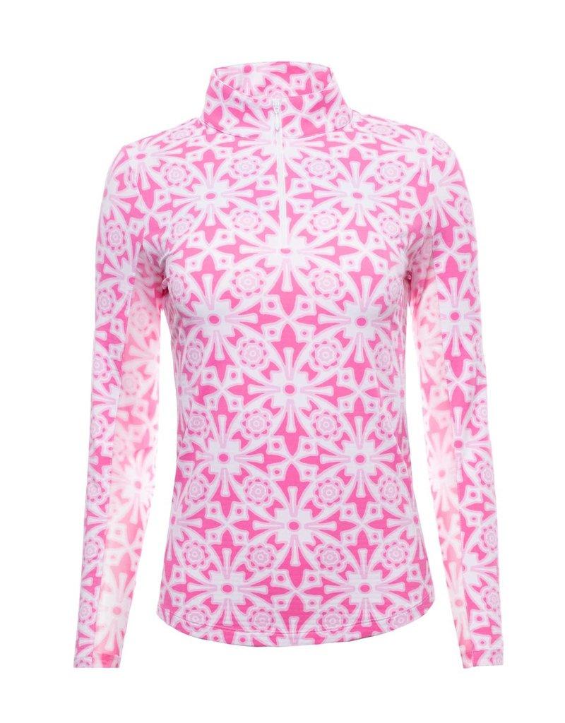 IBKul IBKul Moroccan LS Mock Pink