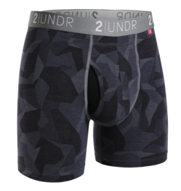 2UNDR 2UNDR Swing Shift Boxer Brief Black Camo