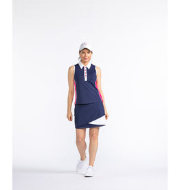Kinona Kinona Bump & Run Sleeveless Golf Top Navy