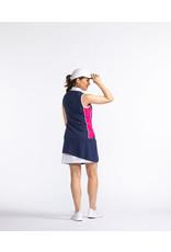 Kinona Kinona Bump & Run Sleeveless Golf Top Navy