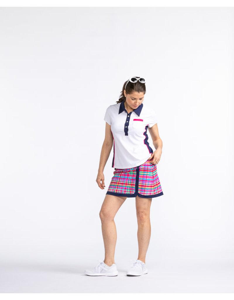 Kinona Kinona Bump & Run Shortsleeve Golf Top White