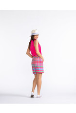 Kinona Kinona Tailored & Trim Golf Short Mad Plaid