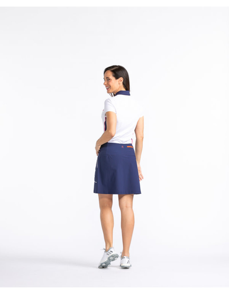 Kinona Kinona Modern Moves Golf Skort Navy