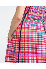 Kinona Kinona Sunny Days Sleeveless Dress Mad Plaid