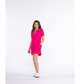 Kinona Kinona Bump & Run Golf Dress Flamingo
