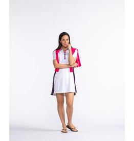 Kinona Kinona Bump & Run Golf Dress White
