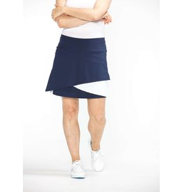 Kinona Wrap It Up Golf Skort Navy