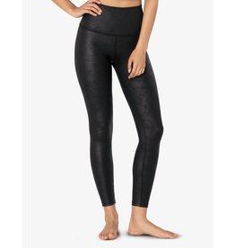Beyond Yoga Luxe Leatherette Legging Black Matte-Blk Foil