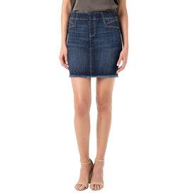 Liverpool Jeans IBKul Pull-On Skirt Cat Eye Pocket Lowry
