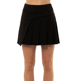 Lucky In Love Lucy in Love Crossover Pleated Skort Black