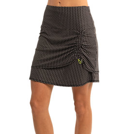 Lucky In Love Lucky in Love Go Baroque Ruche Skort Long Blk
