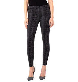 Liverpool Jeans Gia Glider Skinny Gry/Blk Python