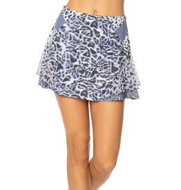 Lucky In Love Lucky In Love Long On the Prowl Skirt Charcoal