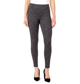 Liverpool Jeans Reese Ankle Legging Gry/Blk Cheetah