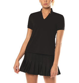 Lucky In Love Chi Chi SS Top Black