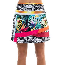 Lucky In Love Bali Stripe Skort Long