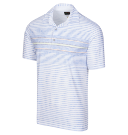 Greg Norman ML75 Wave Polo White
