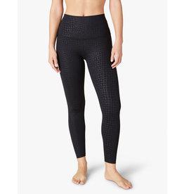 Beyond Yoga Embossed Croc Sportflex Legging Black