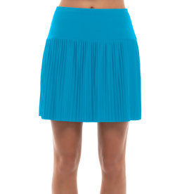 Lucky In Love Lucky In Love Hi-Brid Pleated Skort Long Turqoise