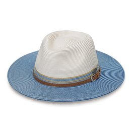 Wallaroo Kristy Hat Ivory/Ice Blue