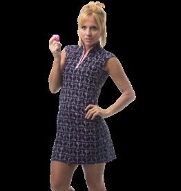 San Soleil SolStyle Ice SL Dress Champagne Pink/Black