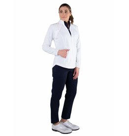 Jofit Wind Jacket w/ Removable Sleeves White