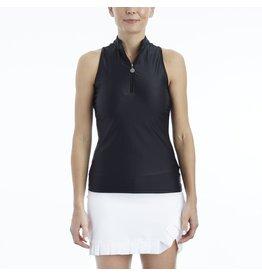 Tzu Tzu Sport Bella Sleeveless Top Black