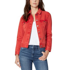 Liverpool Jeans Classic Jean Jacket True Red