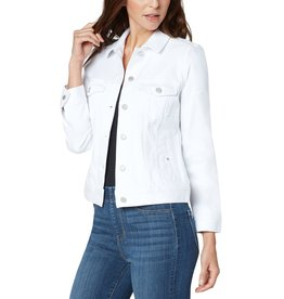 Liverpool Jeans Classic Jean Jacket Bright White